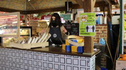 vendeuse marché de l'Isle-Adam