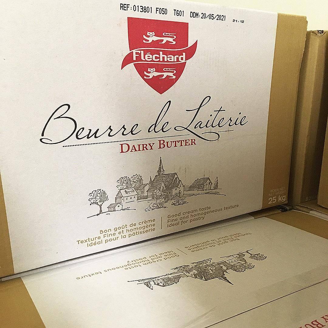 Beurre de laiterie fléchard label rouge